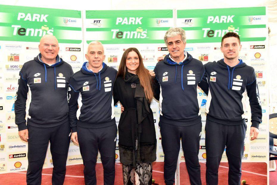 Il Team del Park Tennis Villorba
