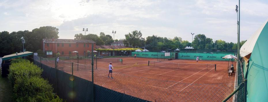 panoramica campi da tennis